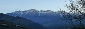 Aizkorri desde la comarca de Goierri